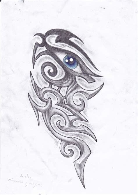 tribal tattoos eyes horus eye images designs