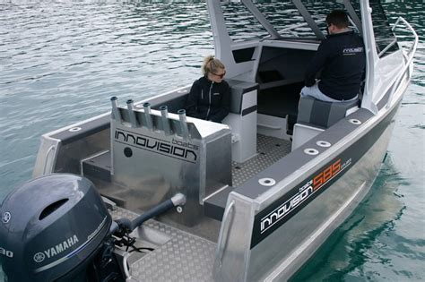 explorer boat reviews boat review innovision 585 explorer boatmags