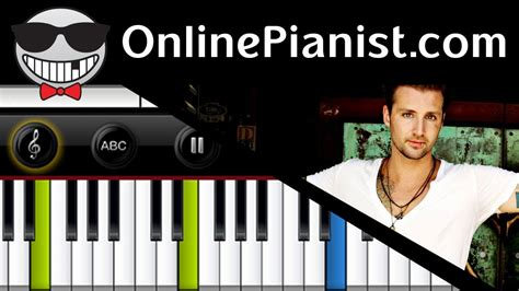 tutorial keyboard fall for you secondhand serenade fall for you piano tutorial youtube