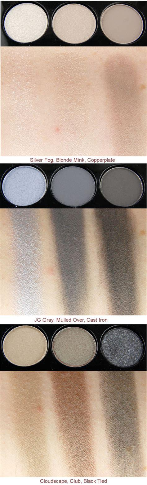 Eyeshadow X 9 Navy Times Nine mac cosmetics navy times nine eyeshadow palette look 1