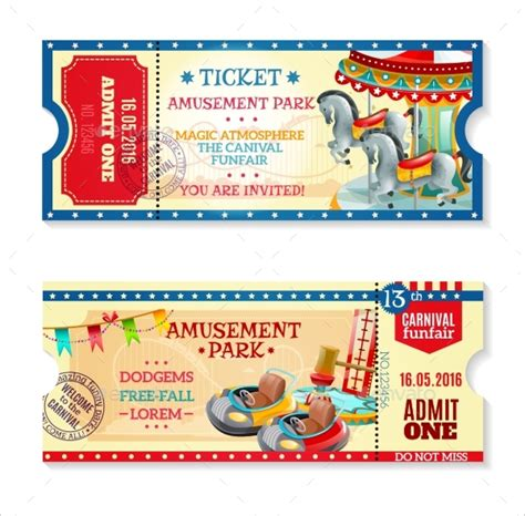 carnival ticket template 23 carnival invitations free psd vector eps ai