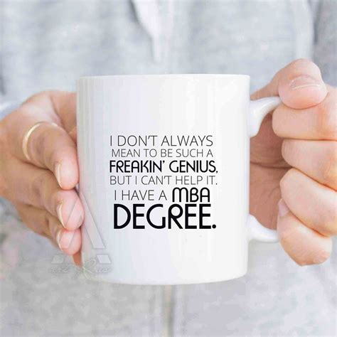 Etsy Mba Gifts business gifts mba degree coffee mug gift