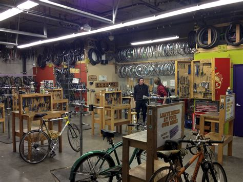 Bike Kitchen by Volunteering At The Bike Kitchen Work Is Made Visible