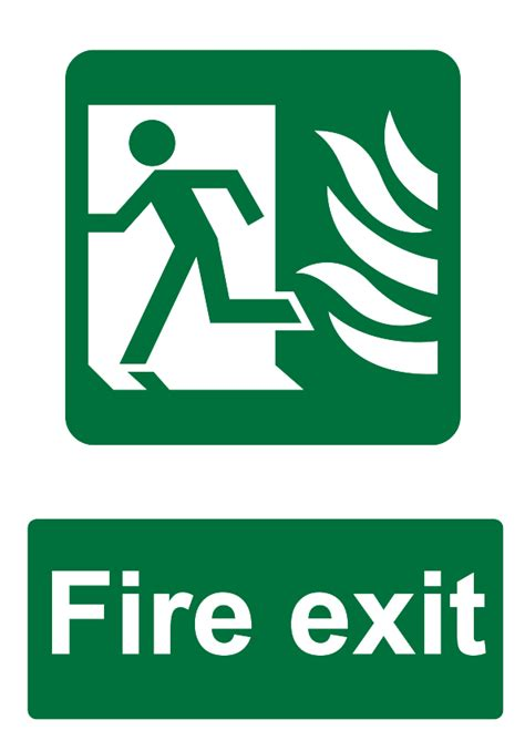 signs free free signage uk printable evacuation and escape signs