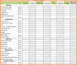 Weekly Chore Chart Template by Monthly Chore Chart Chorechart Cap Png Sales Report Template