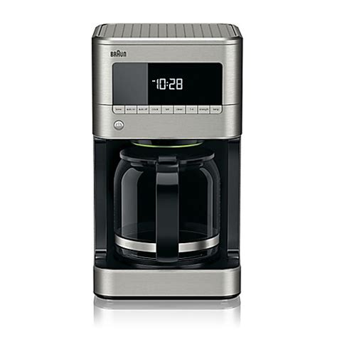 bed bath and beyond coffee braun 174 brewsense 12 cup drip coffee maker bed bath beyond