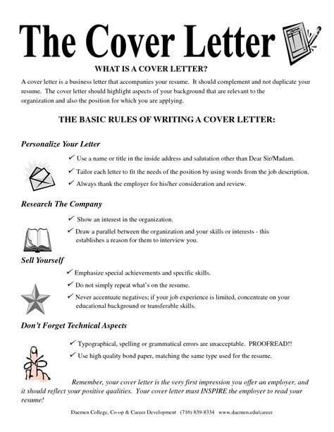 the cover letter what s in a cover letter cover letter exle