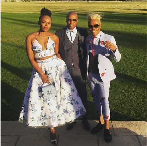 The Best Dressed Celebs At Minnie Dlamini's Wedding   OkMzansi