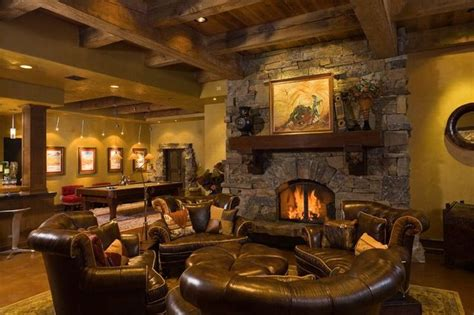 rustic room luxury man cave game room bar man caves