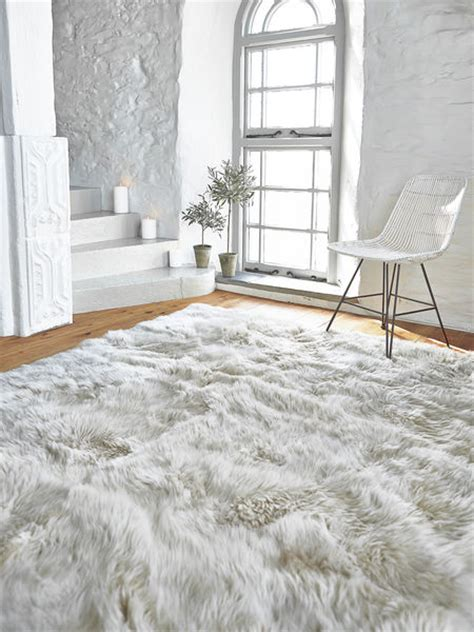 Luxury Rugs by Luxurious Xl Sheepskin Rug Linen Nordic House