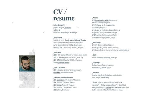 graphic design portfolio resume ideal vistalist co