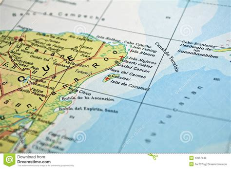 east coast of mexico map mexico map royalty free stock photos image 13957848