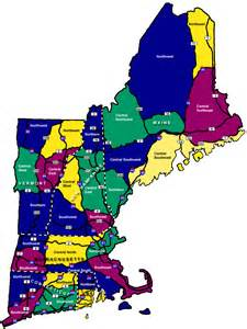 Where Is New England On The Map by Hike New England New England Regions