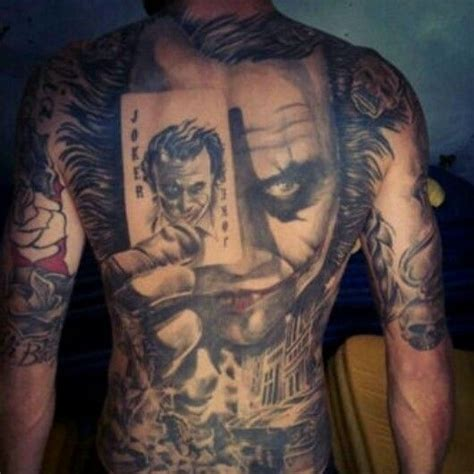 Best Joker Tattoo Ever | the best tattoo ever the joker