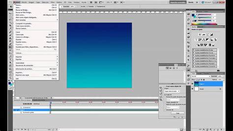 youtube tutorial adobe photoshop cs5 en español tutorial photoshop cs5 animaci 243 n y mundo 3d youtube