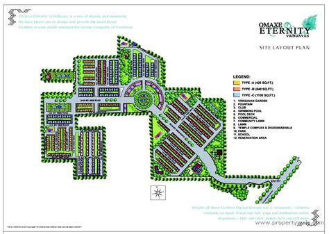 land layout program omaxe eternity vrindavan mathura apartment flat