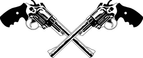 crossed revolvers tattoo crossed pistols country and
