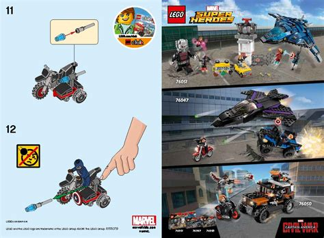 Lego Heroes 30447 Minifigure Captain America Motorcycle S lego 30603 mr freeze and 30447 captain america polybag