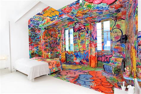graffiti bedroom 13 the most cool and wacky bedrooms ever digsdigs