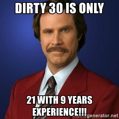 Birthday Meme 30 - funny 30th birthday meme 28 images turning 30 jokes