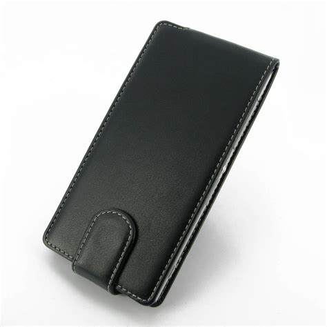 Xperia Z2 Wallet Pouch Premium Flip Cover Leather Bumper Armor sony xperia z2 leather flip carry pdair sleeve pouch holster