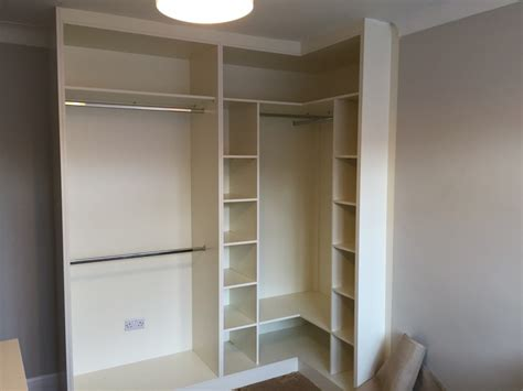 Fitted Corner Wardrobes built fitted corner wardrobe classic traditional bedroom furniture high gloss wardrobes