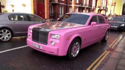 roll royce pink pink rolls royce phantom