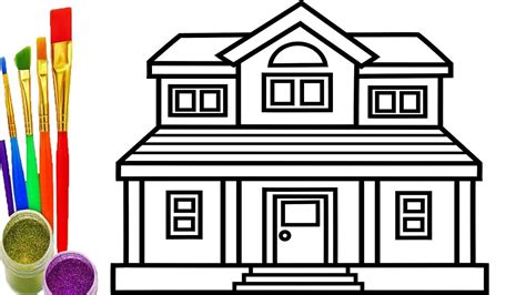 how to draw a house 2 awesome and easy way for everyone how to draw a house house plan 2017