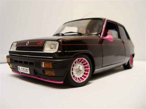 renault 5 tuning renault 5 alpine tuning solido diecast model car 1 18