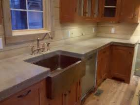 Cement Kitchen Countertops Cast N Place Concrete Countertops Traditional Kitchen Birmingham By The Concrete