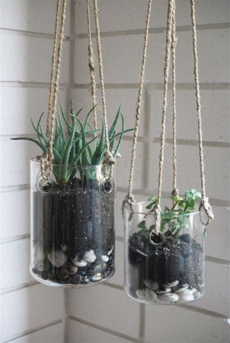 hanging glass planters hanging glass planters terrarium
