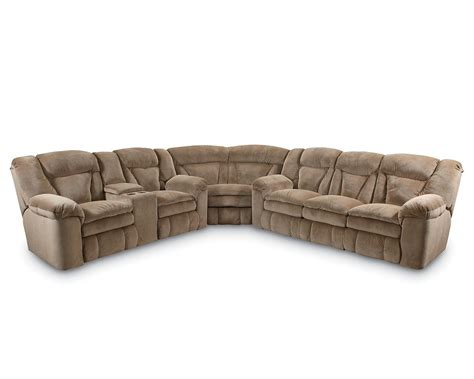 recliner couch with console lane talon double reclining console loveseat lane furniture