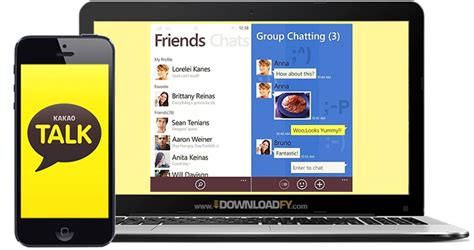 chat android to iphone kakao talk for android iphone windows pc and mac downloadfy