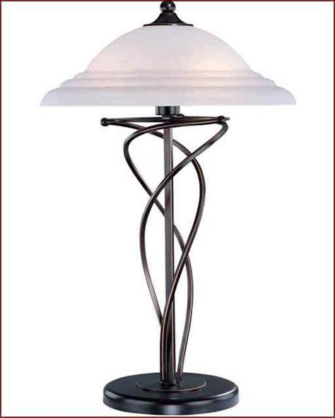 Glass Table Ls For Bedroom by Lite Source Bronze W Cloud Glass Shade Table L Ls