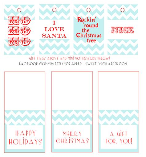 printable christmas place cards uk sweetly scrapped free printable christmas tags and mini cards