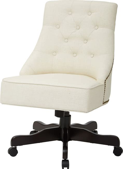 inspired by bassett tufted back office chair with