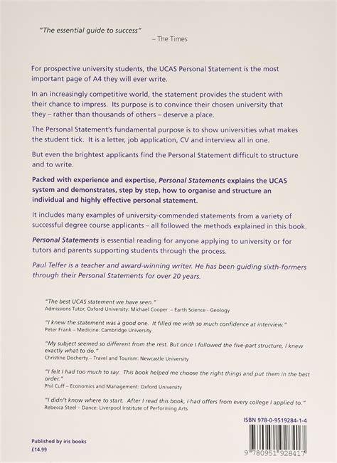 personal statement ucas exle