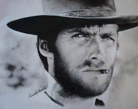 clint eastwood drawing by samantha howell