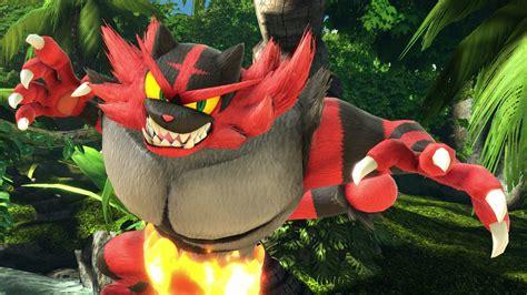incineroar   newest pokemon  super smash bros
