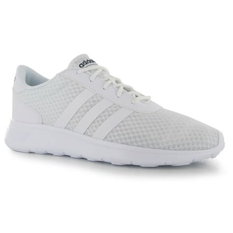 Adidas Cloudfoam Literacer adidas lite racer trainers mens white white navy sneakers shoes