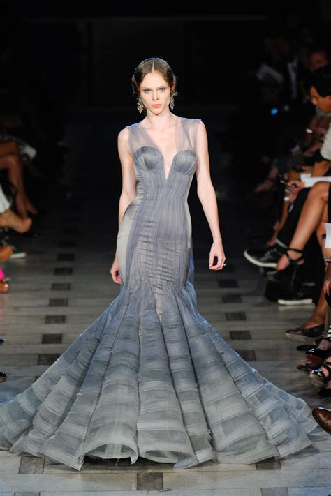 Catwalk To Carpet Bilson In Zac Posen by Zac Posen 2012 Coco Rocha S Best Runway Looks