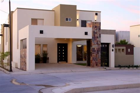 imagenes de fachadas minimalistas con cantera fachadas con muros de cantera
