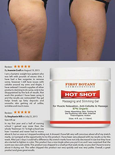dabo slimming hot gel reviews hot shot slimming gel and massaging gel 4 fl oz great for