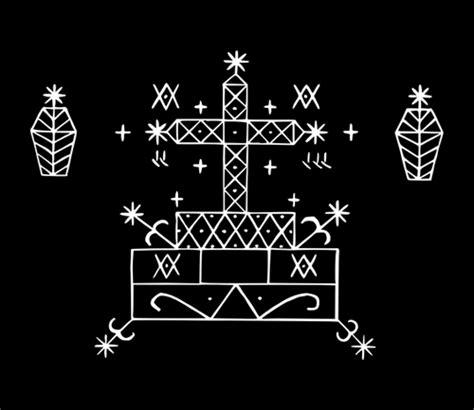 hatian voodoo veve symbols meaning baron samedi symbol