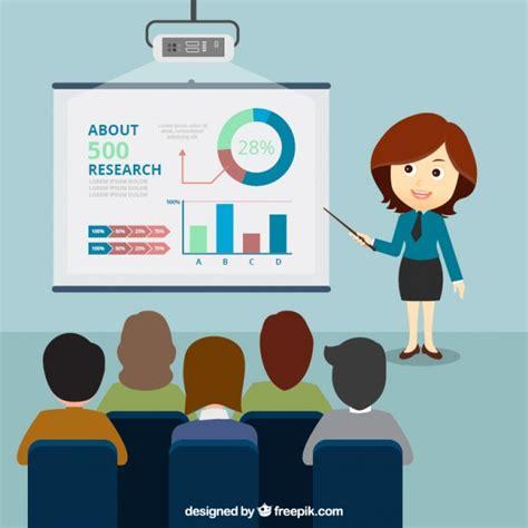business presentation vector free