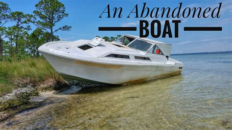boat r near abandoned boat near crab island in destin florida youtube