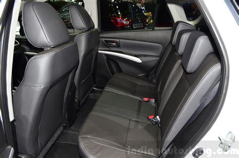 Suzuki Sx4 Seats Suzuki Sx4 S Cross Rear Seat At The 2014 Motor Show