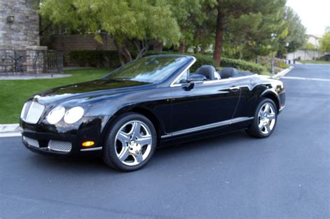 2007 bentley gtc 2007 bentley continental gtc convertible 202391