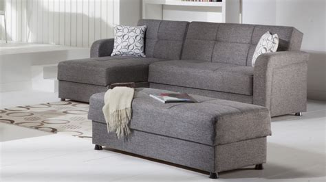 Sectional Sofa With Chaise And Ottoman Gray Sectional Sofa With Chaise Luxurious Furniture Homesfeed