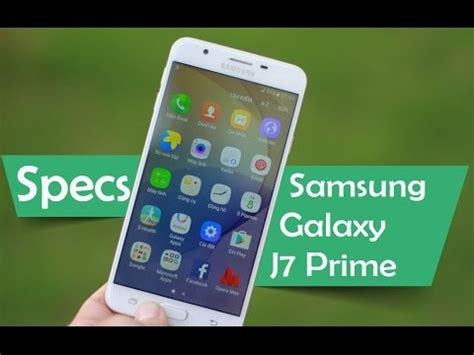 samsung galaxy  prime specs  youtube